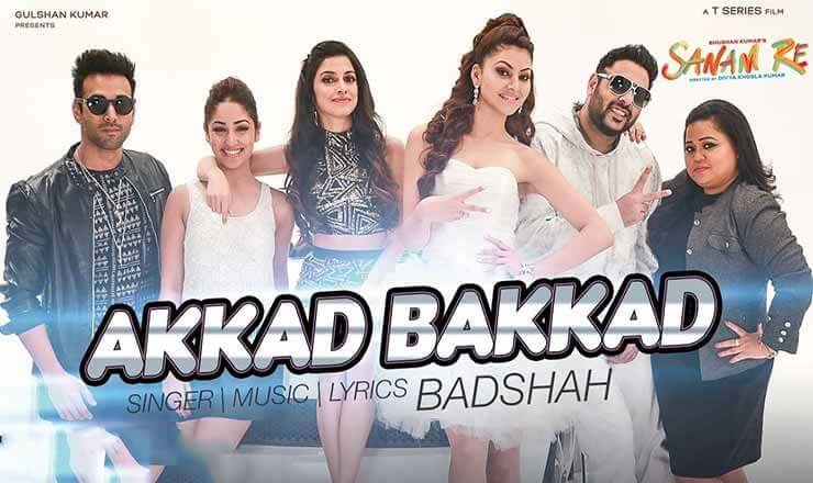 Akkad Bakkad Song Lyrics