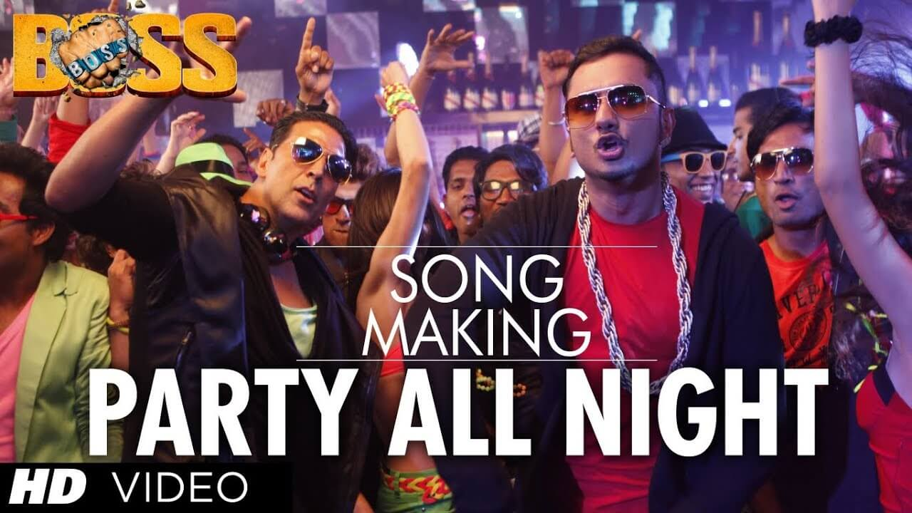 Party All Night Song Lyrics