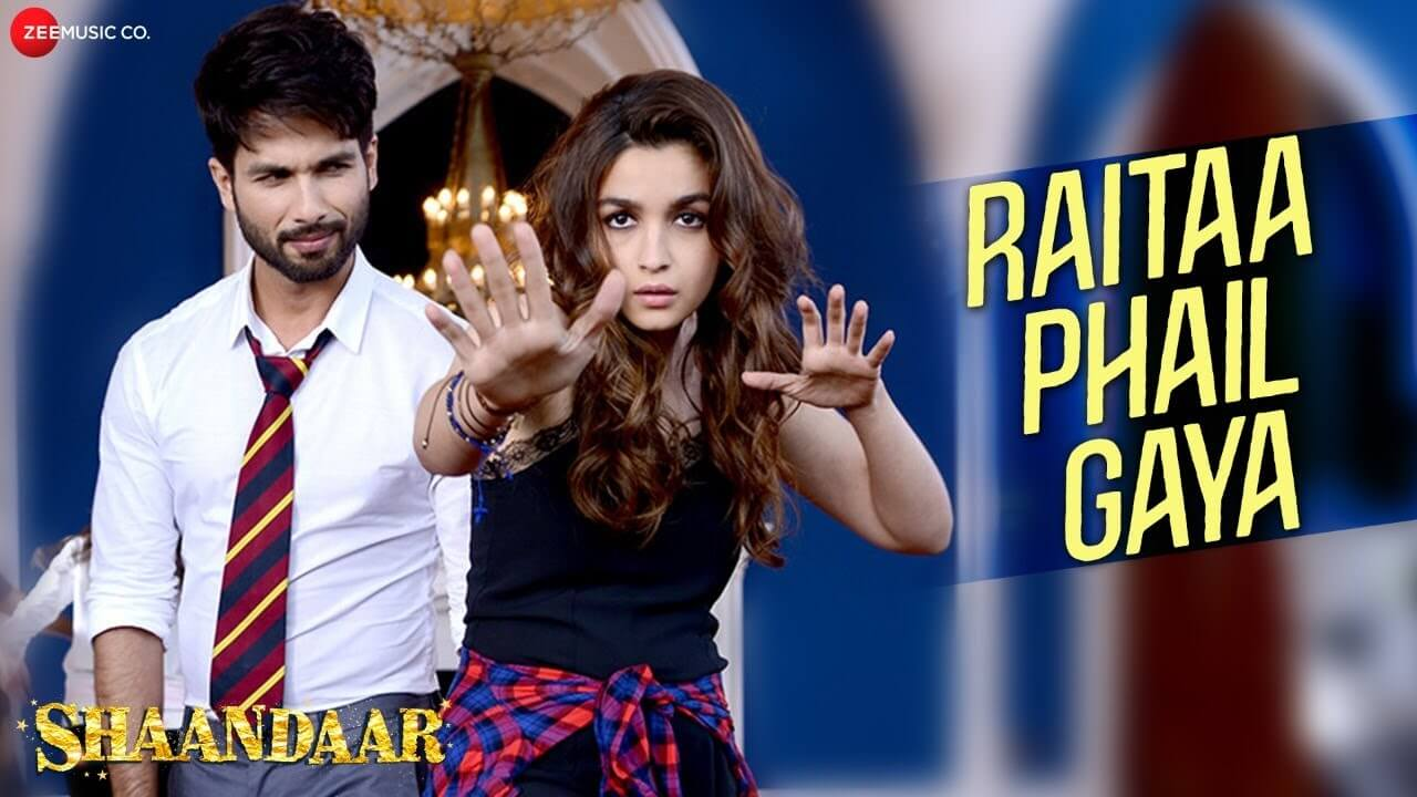 Raita Phail Gaya Song Lyrics