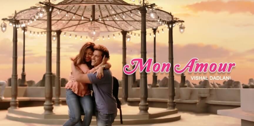 Mon Amour Song Lyrics in Hindi